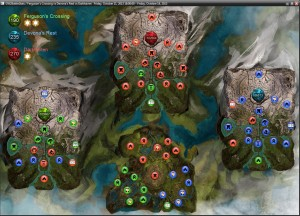 Guildwars2 WvW Map